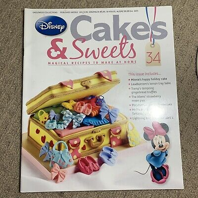 Disney Cakes & Sweets Magazine Issue 34 (MAG ONLY)