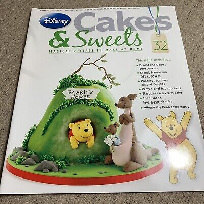 Disney Cakes & Sweets Magazine Issue 32 (MAG ONLY)