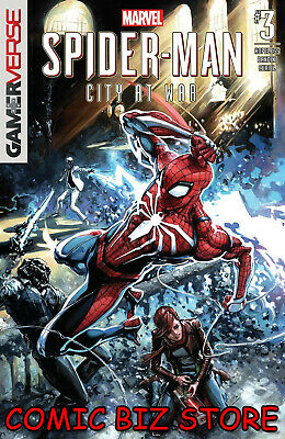 Spider-Man City At War #3 (Of 6) (2019) 1St Print Clayon Crain Main Cover Marvel