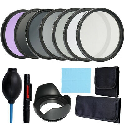 Professional Lens and Filter Bundle Complete and Compact Camera Accessory B0Z9