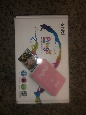 Hiti Pringo P232 Portable Photo Printer Wireless iPhone/iPad/Android