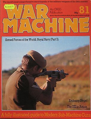 War Machine magazine Issue 81 Modern Sub Machine Guns, Heckler und Kock MP5