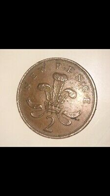 2p New Pence coin Dated 1971