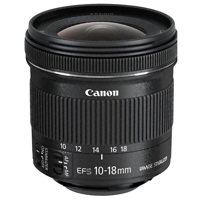 Canon EF-S 10-18mm F/4.5-5-6 Is Stm Lente