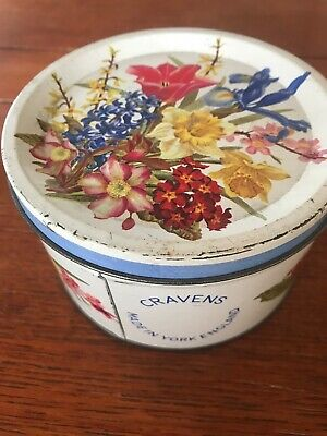 Vintage Collectable Craven Minster Toffee Tin Box - York