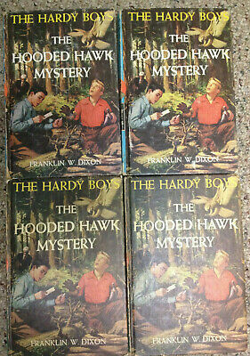 BF 1 (one) copy Hardy Boys Original Text (OT) picture cvr  #34 The Hooded Hawk