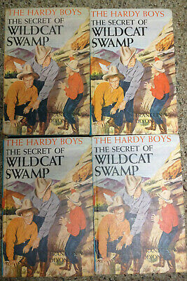 1 (one) copy of Hardy Boys Original Text (OT) picture cover  #31 Wildcat Swamp
