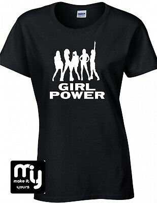Spice girls reunion tour concert Tshirt zigazig ah spice up your life girl power