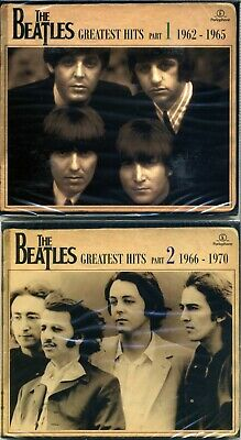The Beatles Greatest Hits 1962-1965 and 1966-1970 4 CDs New