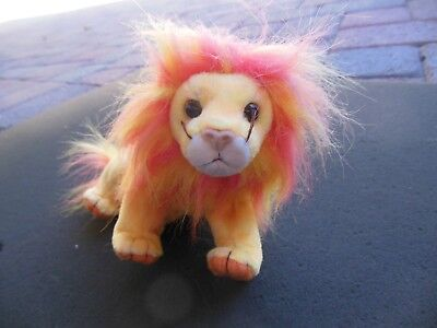 Original Ty Beanie Baby Bushy The Lucky Lion Mint Condition With Tags Free Shipping!