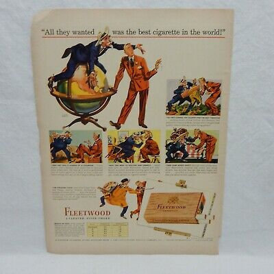 8bedf1a1ea3 VINTAGE 1943 WWII Camel Cigarette Life Ad Promoting Navy And War ...