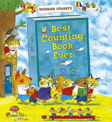 Richard Scarry's Best Counting Book Ever, Richard Scarry, Good Condition Book, I