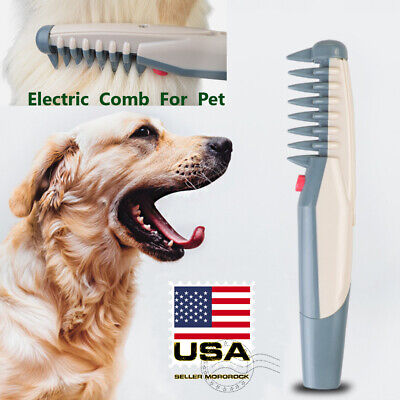 Electric Pet Grooming Comb Groomer Hair Scissor Trimmer For Pet Dogs & Cats