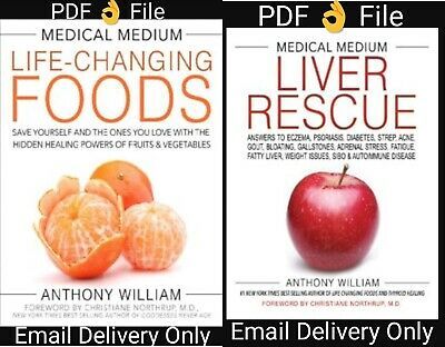 Medical Medium Life changing food and Liver Rescue Anthony William PDF 👌 File