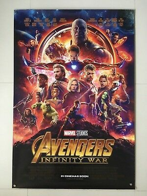 Avengers Infinity War | original DS one sheet movie poster 27x40 INTL | Marvel