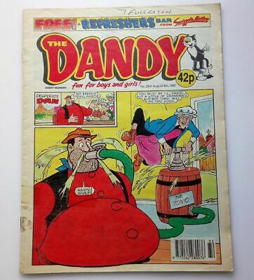 The Dandy 9th August 1997 Collectable Childrens HumoUr Comic Number 3025 *