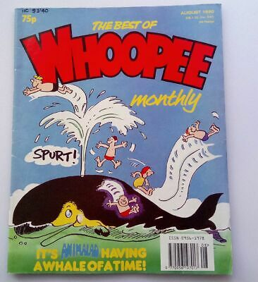 The Best of Whoopee Monthly August 1990 Collectable Childrens Kids Comic *
