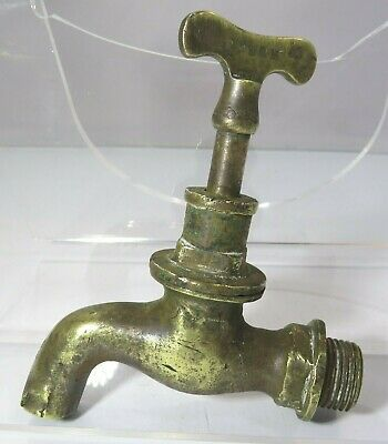 Antique Brass Water Tap Faucet