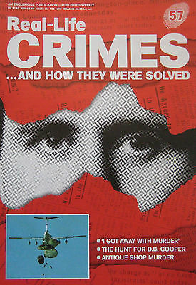 Real-Life Crimes Issue 57 - Donald Hume, the hunt for D.B. Cooper