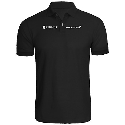 McLaren reanult team POLO shirt * racing * auto * formula * driver * SAINZ