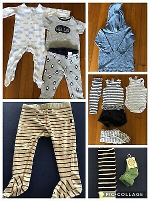 Baby Boys Clothing Bundle Size 0 6-12mths Fred Bare Bonds Sprout Huggalugs