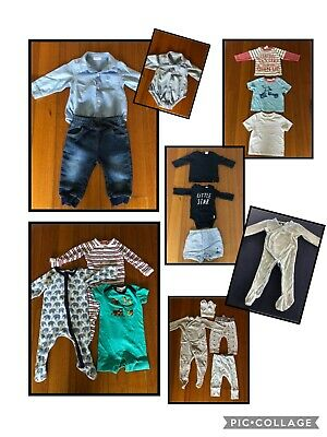 Baby Boys Clothing Bundle Size 00 3-6mths Country Road Sprout Next Fred Bare