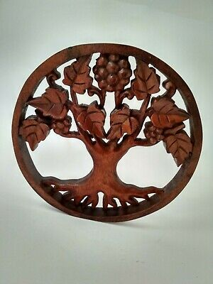 Tree Of Life Round 3d 24 Wooden Wall Art Beautiful Home Decor