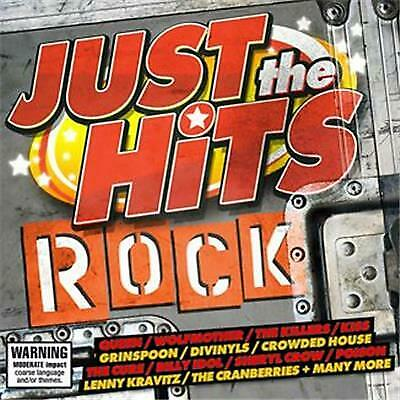Just The Hits: Rock . 2 CD COMPILATION. KISS, QUEEN, DIVINYLS,THE CURE