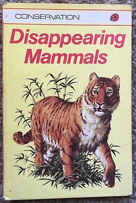 Old Ladybird Book Disappearing Mammals Conservation Series 727