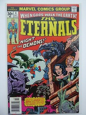 The Eternals #4 1976 Jack Kirby Art VF/NM Marvel CENTS