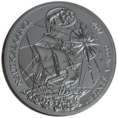 1 oz Ruanda Santa Maria 2017 PP Nautical Ounce Silber + CoA