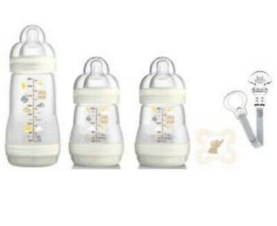 *BRAND NEW IN BOX* MAM Anti-colic Welcome To The World Bottle Set  - Unisex