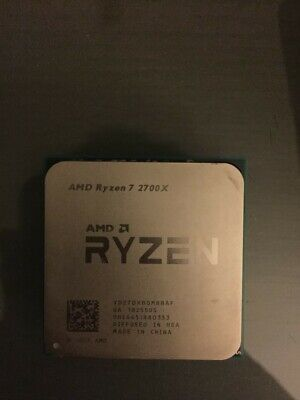 AMD Ryzen 7 2700x 8 Core Turbo 4.3GHz + Brand New Deepcool Cooler (UA1824SUS)