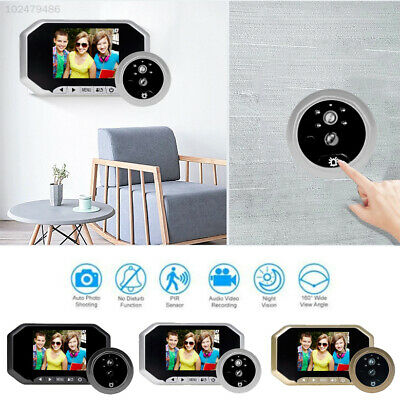 3.5 Inch LCD HD Peephole Viewer Doorbell Home Security Cameras PIR Night Vision
