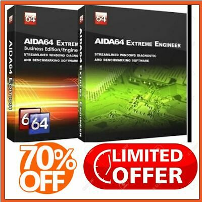 PROMO : AIDA64 Engineer 6+ AIDA64 Extreme 🔥Digital Download✅ Lifetime Key 🔐