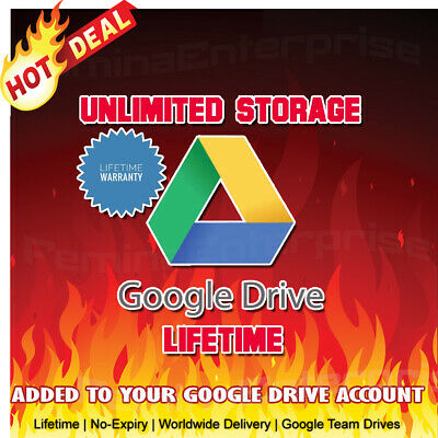 🔥🔥🔥 Unlimited Google Drive Cloud Storage Account [Lifetime] [Single Payment]