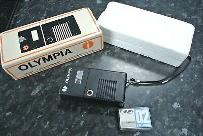 Vintage Olympia Dictaphone with Philips Micro Cassette