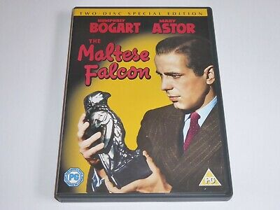 The Maltese Falcon - 2-Disc Special Edition - GENUINE UK DVD - EXCEL CONDITION
