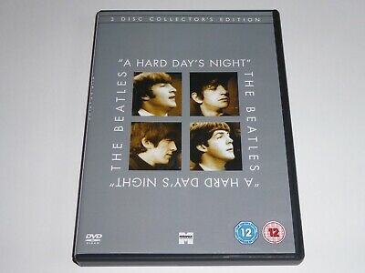 A Hard Day's Night: 2-Disc Collector's Edition - The Beatles GENUINE DVD EX COND