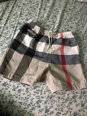 f544d0f3172e0 BURBERRY CHILDREN CROSBY poppy red baby boy 18 mon check 2pc ...