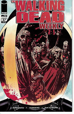 The Walking Dead Weekly #27 NM 2011 Image Comic 1st Appearance Governor Kirkman