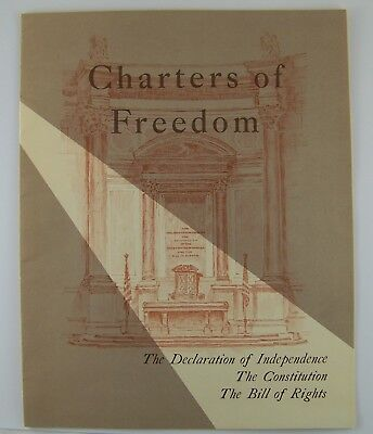 Charters of Freedom - USA Historical Documents Book