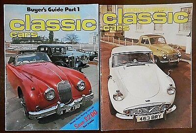 Thoroughbred & Classic Car, Magazines x 2, June,July, 1976. Volume 3, Nos 9 & 10