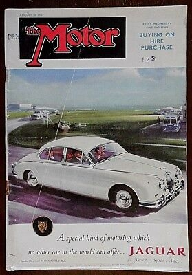 The Motor Magazine 30th August 1961 Issue. Pub by Temple Press Ltd. No 3093