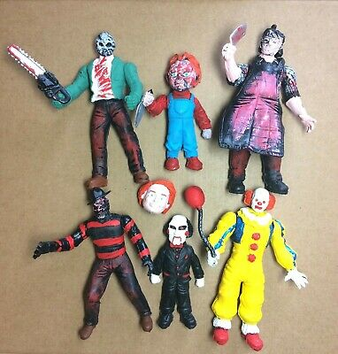 HORROR MOVIE CHARACTERS Figure Set 4
