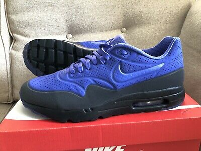 3b75ca76cd MENS NIKE AIR MAX 1 ULTRA MOIRE TRAINERS SIZE UK 10 🇬🇧 Persian Violet 😈