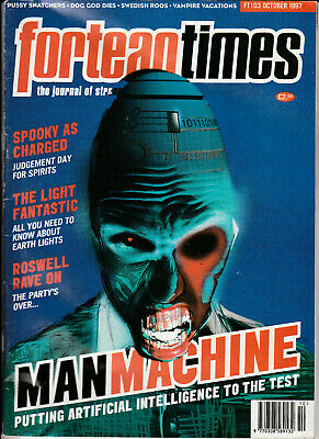 FORTEAN TIMES Magazine October 1997 - Man Machine