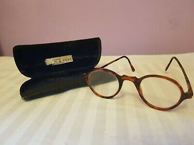 One pair of Vintage Childs Spectacles antique childrens glasses display items