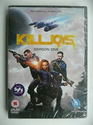 Killjoys - Season One (DVD, 2016, 2-disc set) New and Sealed