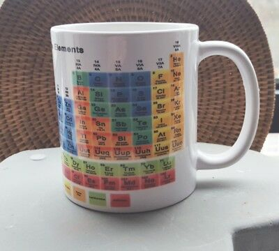 Periodic Table of the Elements TEA/COFFEE Mug Chemistry-Perfect gift for teacher
